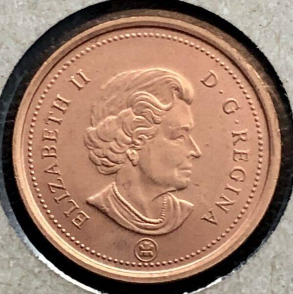 CANADA - 1 Cent 2006 - Magnétique - MRC Logo - B.UNC