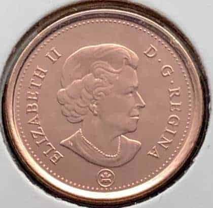 CANADA - 1 Cent 2012 - Non-Magnétique - B.UNC