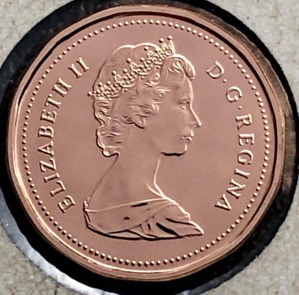 CANADA - 1 Cent 1986 - B.UNC
