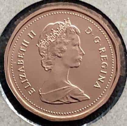 CANADA - 1 Cent 1989 - B.UNC