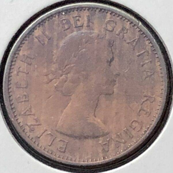 CANADA - 1 Cent 1956