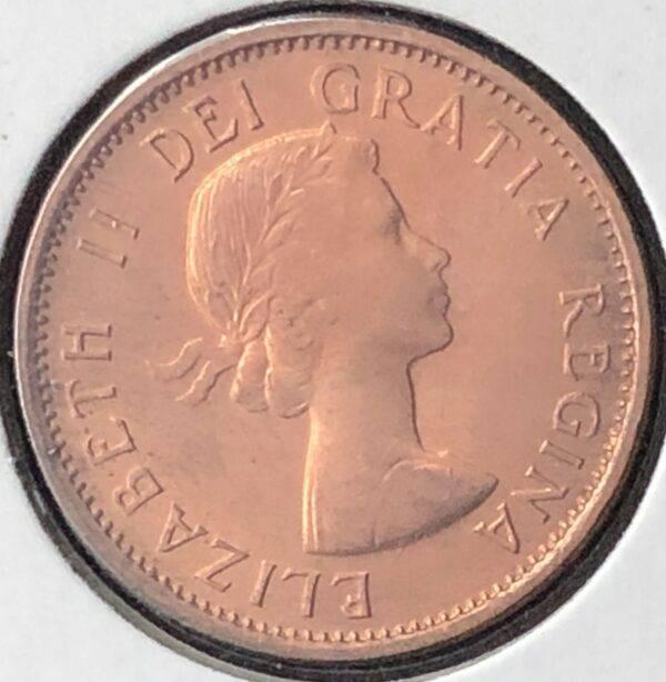 CANADA - 1 Cent 1957 - B.UNC