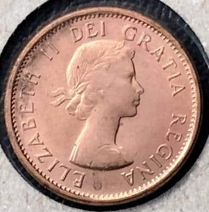CANADA - 1 Cent 1958 - B.UNC