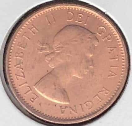 CANADA - 1 Cent 1962 - B.UNC