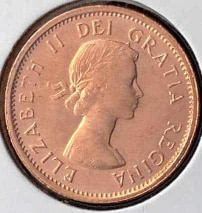 CANADA - 1 Cent 1963 - B.UNC