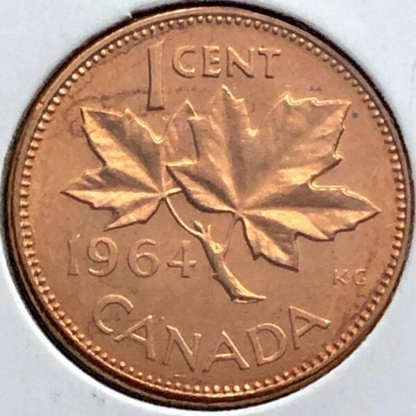 CANADA - 1 Cent 1964 - B.UNC