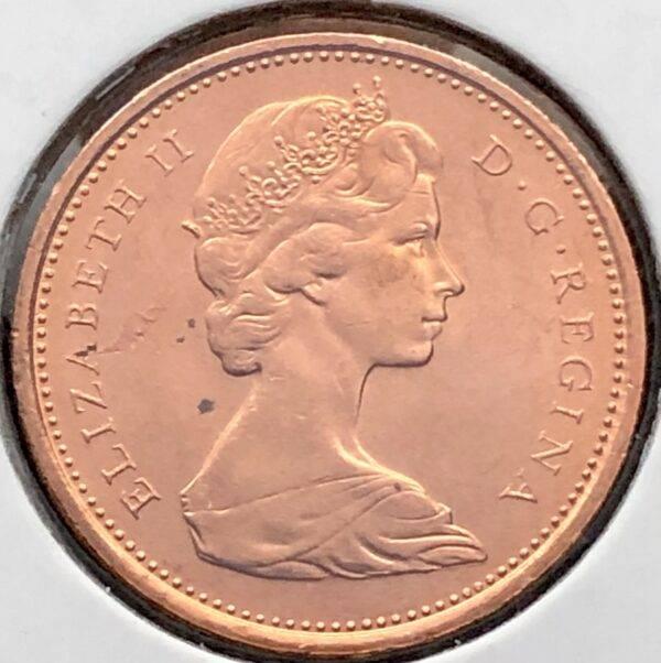 CANADA - 1 Cent 1966 - B.UNC