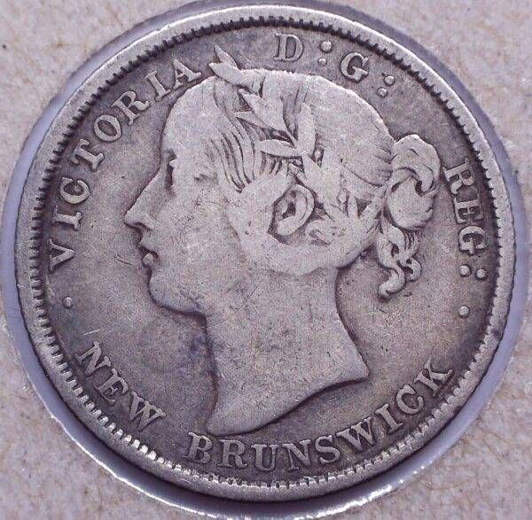 CANADA - 20 Cents 1862 - Nouveau-Brunswick - F-12