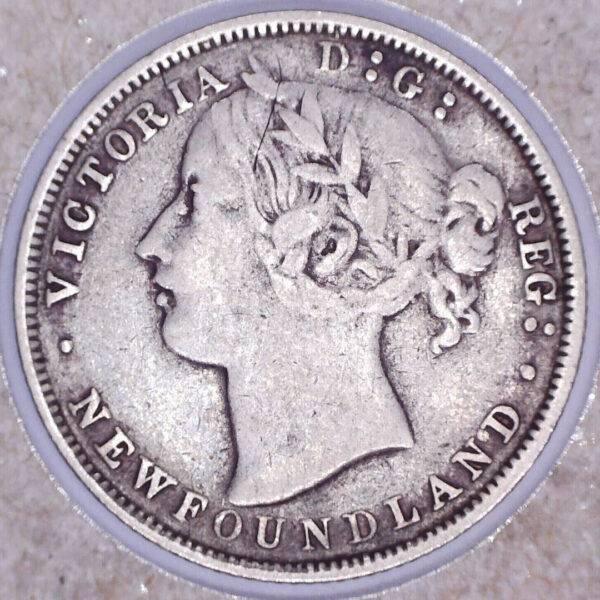 CANADA - 20 Cents 1865 - Terre-Neuve
