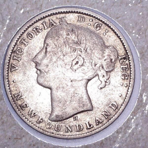 CANADA - 20 Cents 1872H - Terre-Neuve