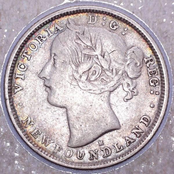 CANADA - 20 Cents 1876H - Terre-Neuve