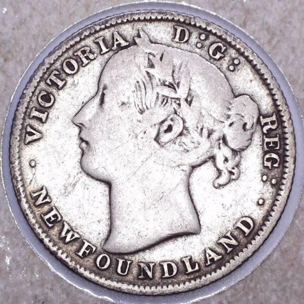 CANADA - 20 Cents 1885 - Terre-Neuve
