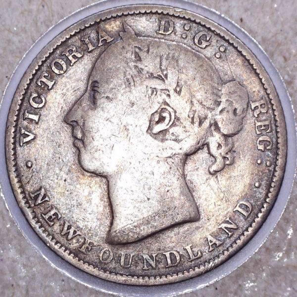 CANADA - 20 Cents 1888 - Terre-Neuve