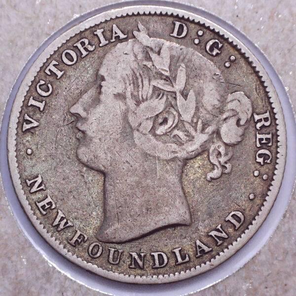 CANADA - 20 Cents 1896 - Terre-Neuve