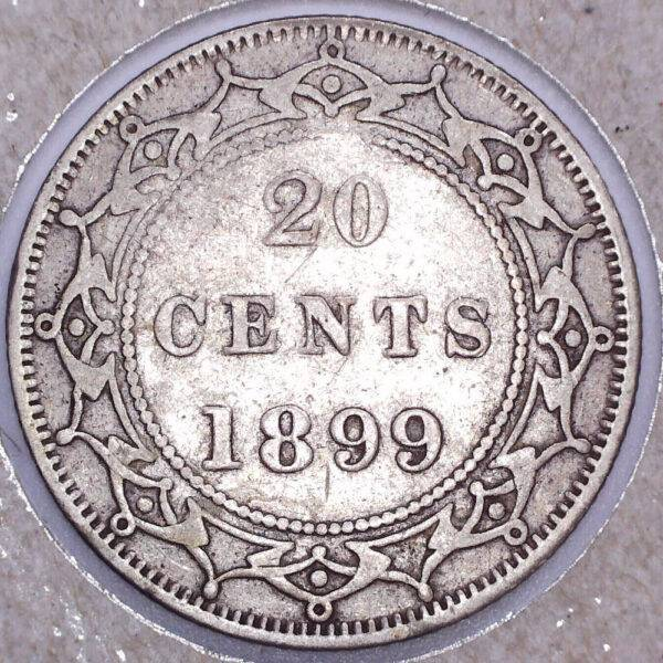 CANADA - 20 Cents 1899 - Terre-Neuve