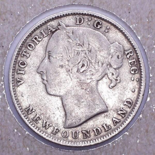 CANADA - 20 Cents 1900 - Terre-Neuve