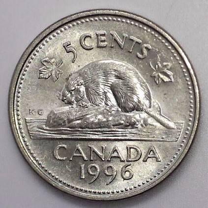 CANADA - 5 Cents 1996 - FAR - UNC