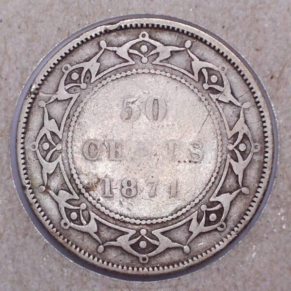 CANADA - 50 Cents 1874 - Terre-Neuve