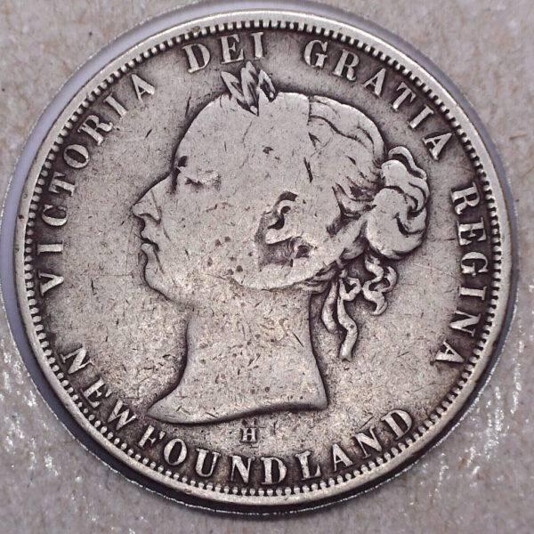 CANADA - 50 Cents 1876H - Terre-Neuve