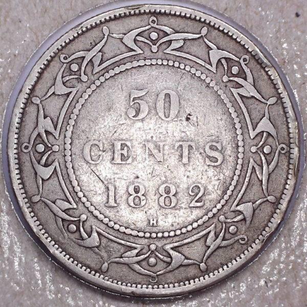 CANADA - 50 Cents 1882H - Terre-Neuve