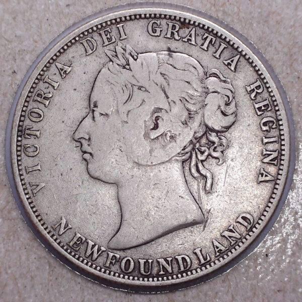 CANADA - 50 Cents 1885 - Terre-Neuve