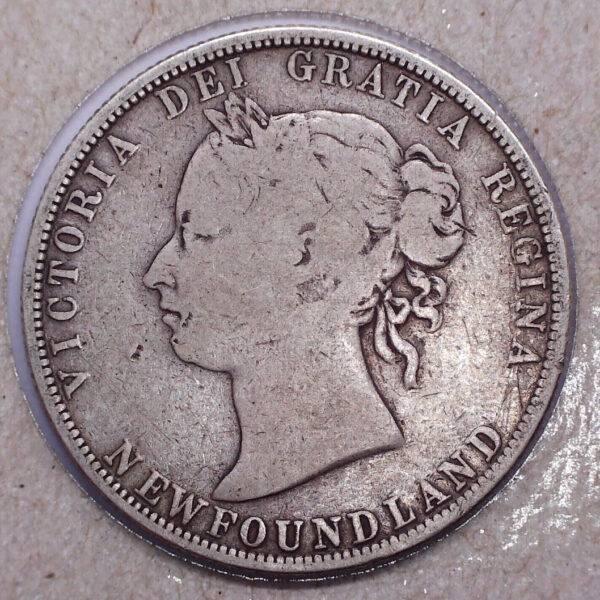CANADA - 50 Cents 1888 - Terre-Neuve