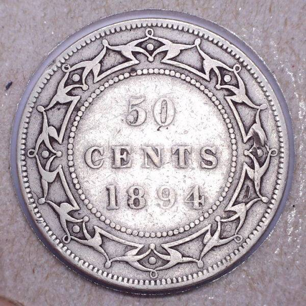 Newfoundland 50 cents 1894