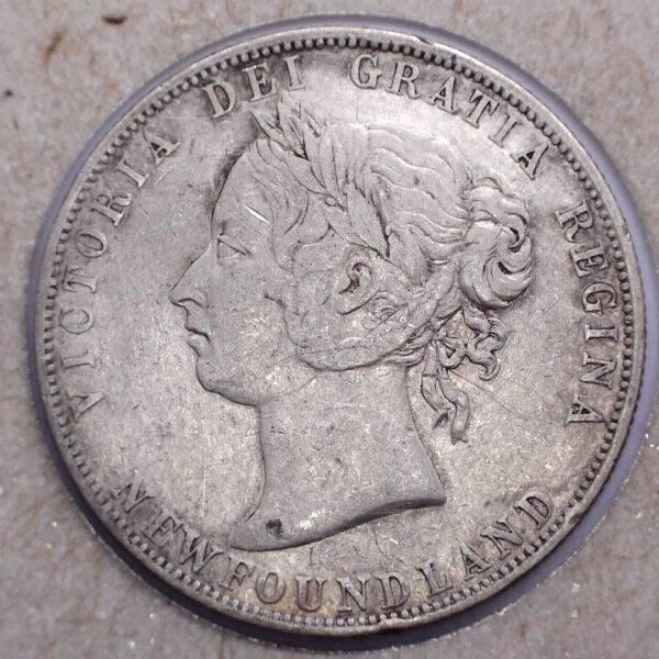 CANADA - 50 Cents 1896 - LW/SW - Terre-Neuve