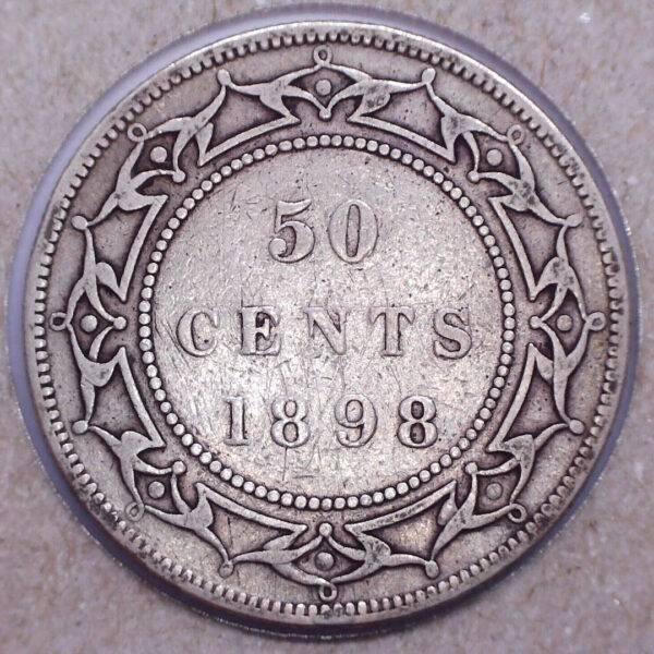 CANADA - 50 Cents 1898 - LW - Terre-Neuve