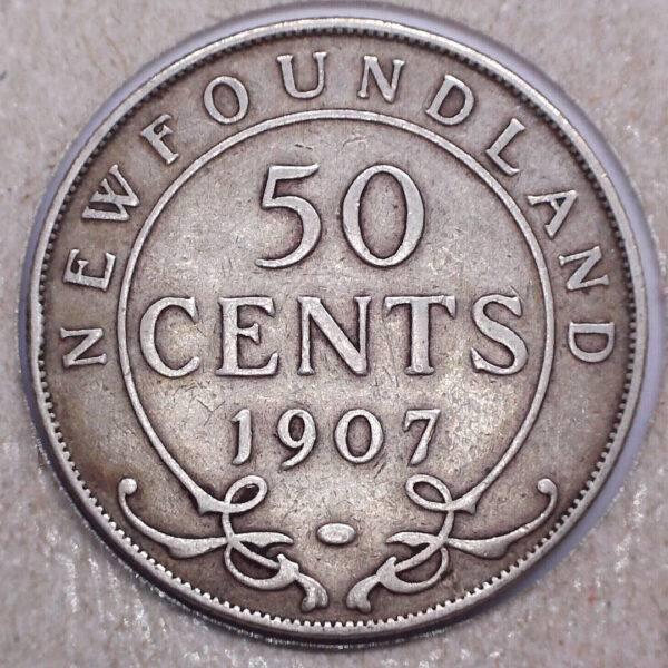 CANADA - 50 Cents 1907 - Terre-Neuve