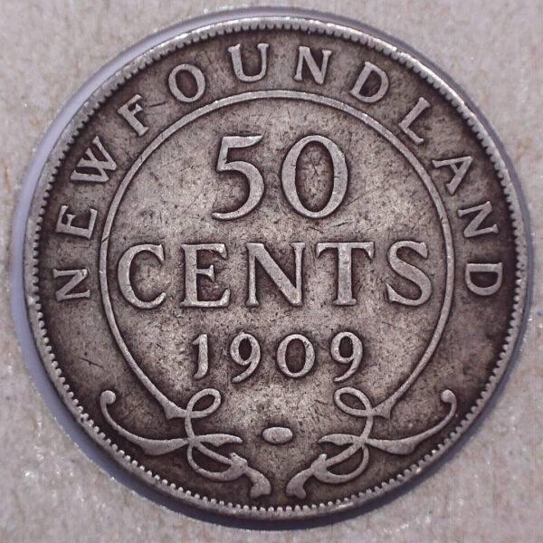 CANADA - 50 Cents 1909 - Terre-Neuve