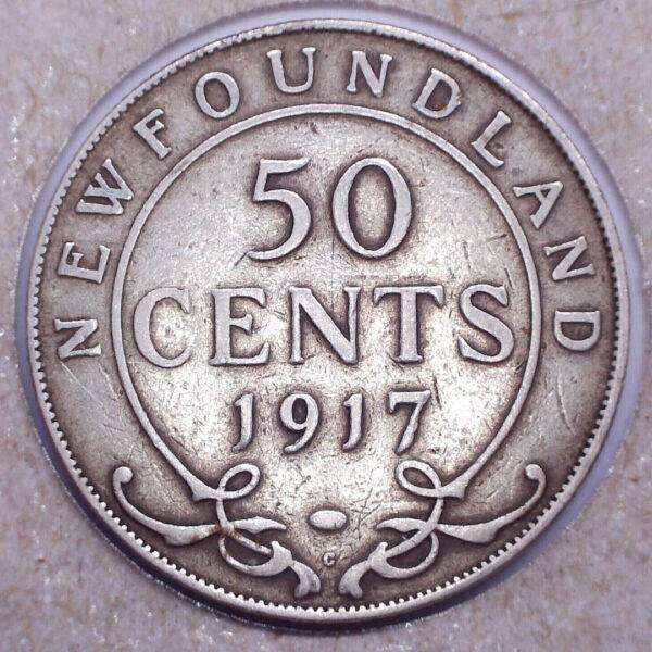 CANADA - 50 Cents 1917C - Terre-Neuve
