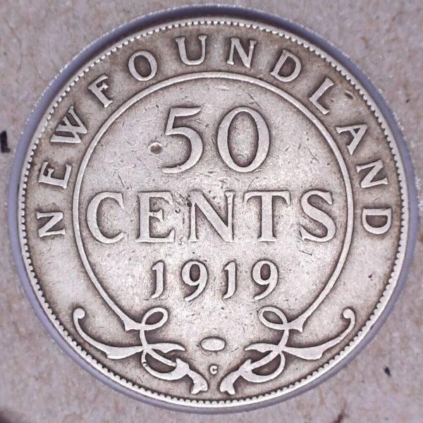 CANADA - 50 Cents 1919C - Terre-Neuve