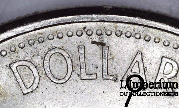 CANADA - DOLLAR 1967 - DBL DOLLAR - REVERS