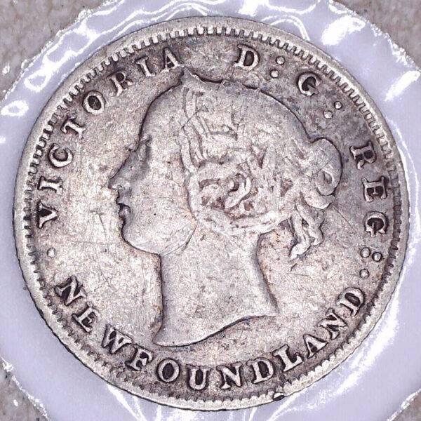 CANADA - 5 Cents 1865 - Terre-Neuve - VG-10