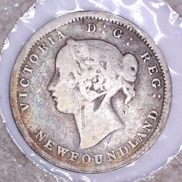CANADA - 5 Cents 1872H - Terre-Neuve - VG-8