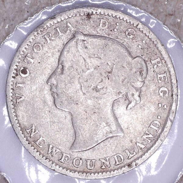 CANADA - 5 Cents 1896 - Terre-Neuve - VG-8