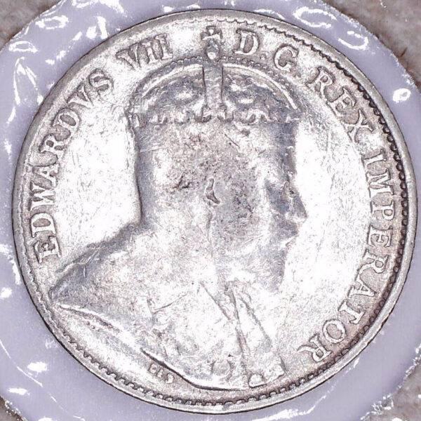 CANADA - 5 Cents 1908 - Terre-Neuve - VG-8