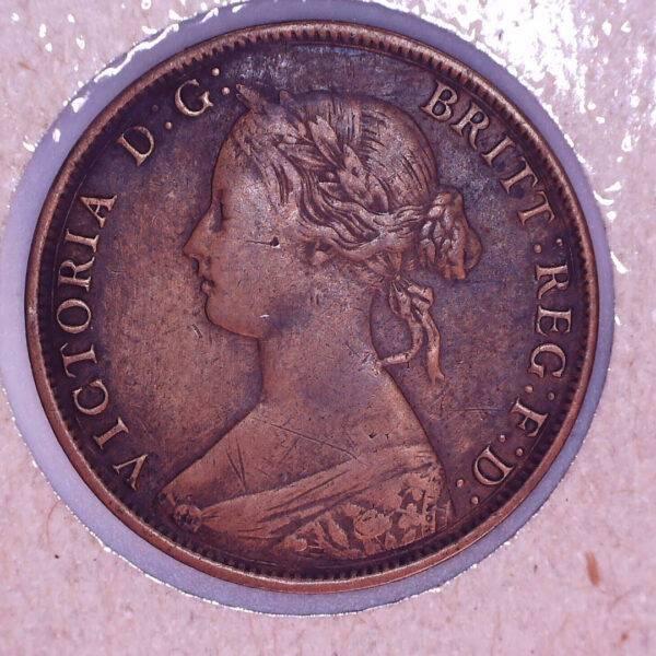 CANADA - 1 Cent 1864 - Tall Six - Nouveau-Brunswick - VF-30