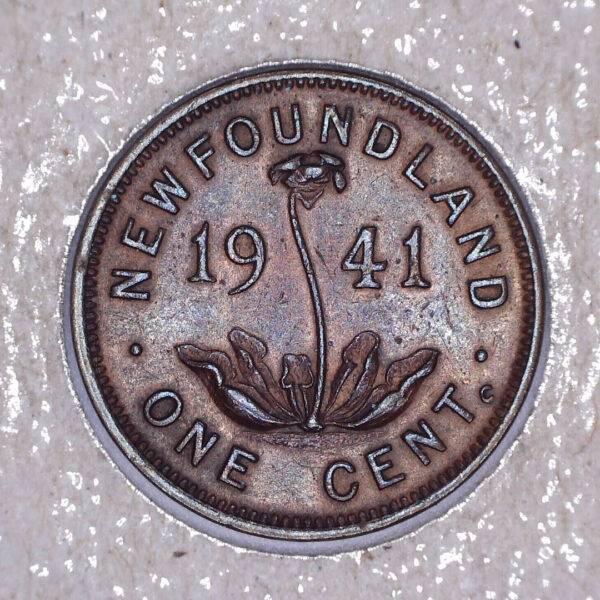 CANADA - 1 Cent 1941C - Terre-Neuve - VF-20