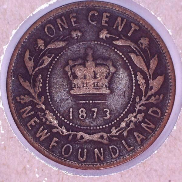 CANADA - 1 Cent 1973 - Terre-Neuve - VG-10