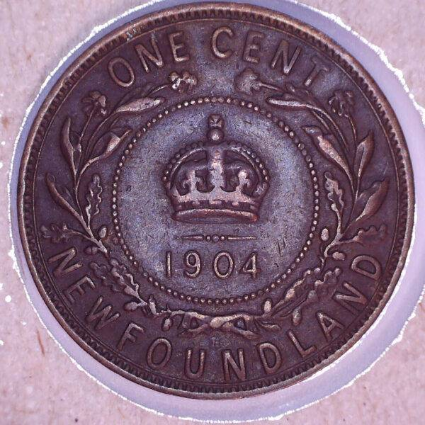 CANADA - 1 Cent 1904H - Terre-Neuve - VF-20
