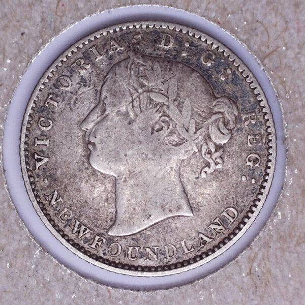 CANADA - 10 Cents 1873 - Terre-Neuve