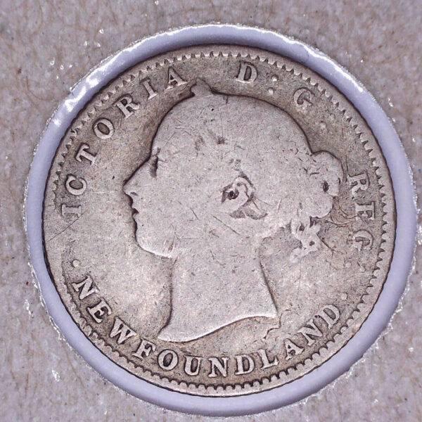 CANADA - 10 Cents 1888 - Terre-Neuve