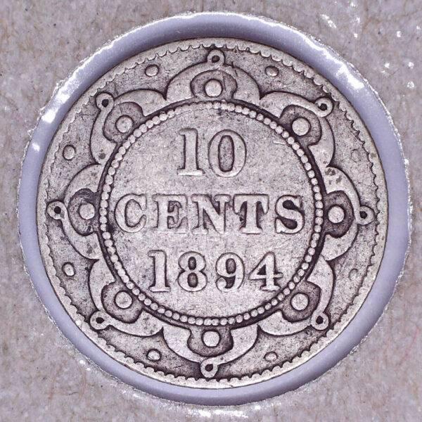 CANADA - 10 Cents 1894 - Terre-Neuve