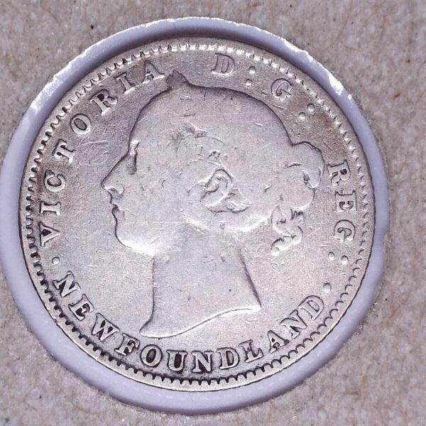 CANADA - 10 Cents 1896 - Terre-Neuve