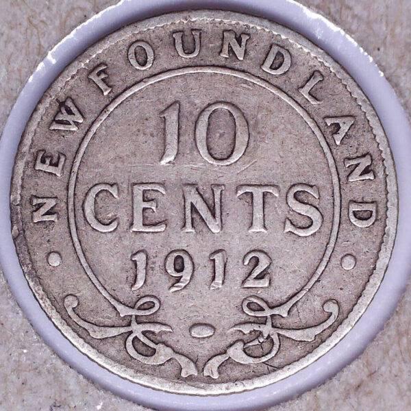 CANADA - 10 Cents 1912 - Terre-Neuve