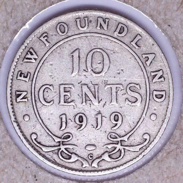 CANADA - 10 Cents 1919C - Terre-Neuve