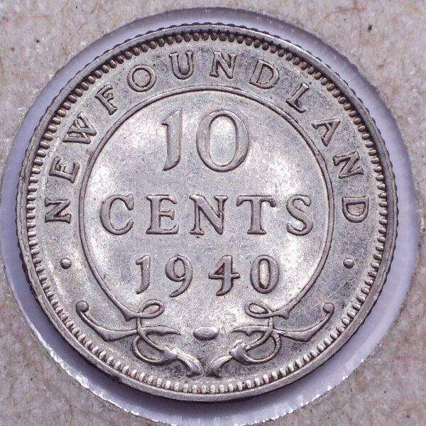 CANADA - 10 Cents 1940 - Terre-Neuve