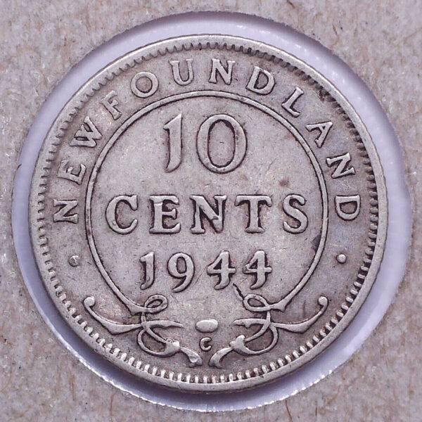 CANADA - 10 Cents 1944C - Terre-Neuve